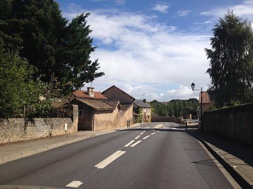 La rue principale du village.