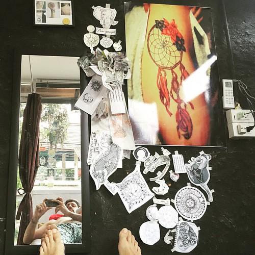 JAH #Tattoo #Studio  @ #Pai #Thailand  #thailoup #traveloup