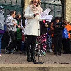 Emceeing the 12th Annual Second Wind walk. #lungtransplant #organdonation
