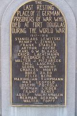 German POW Monument Detail
