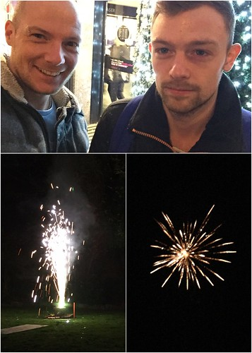 Today is all about...friends and fireworks