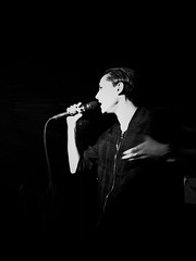 "Savages - 2015 NYC Residency, Mercury Lounge, New York City, NY 1-21-15 • <a style=""font-size:0.8em;"" href=""http://www.flickr.com/photos/79463948@N07/23457646592/"" target=""_blank"">View on Flickr</a>"