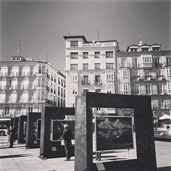 Exposición fotográfica GÉNESIS de Sebastián Salgao en la #virgenblanca #vitoriagasteiz #igersgasteiz #igerseuskadi