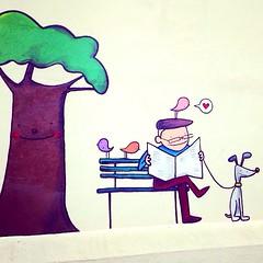#mural #porta