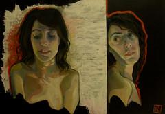 Angolo-L'attesa, olio su tela, 70×100, 2012