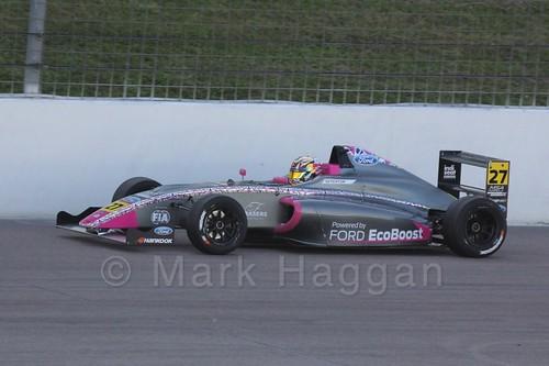 Dan Ticktum in MSA Formula at Rockingham, September 2015