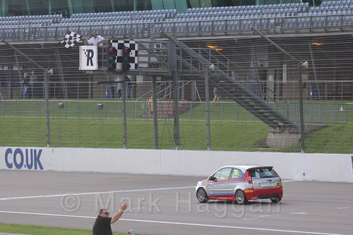 Carlito Miracco wins Race 1, Fiesta Junior Championship, Rockingham, Sept 2015