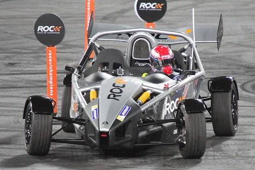 Alex Buncombe in The Race of Champions, Olympic Stadium, London, November 2015
