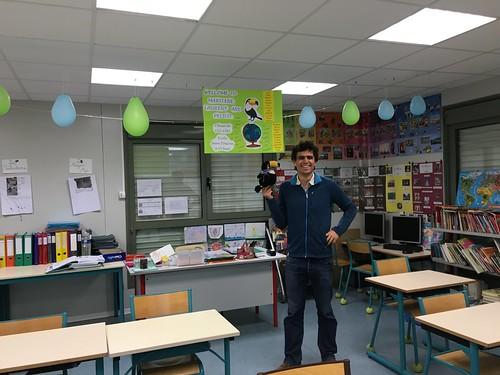 La classe avait été décorée pour l'arrivée de Pelico !!