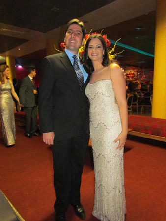Henrique Carneiro e Laura Lage