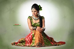 South Actress Deepika Das Traditional cum Hot Photos Set-3 (9)
