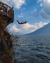Day 254. I somehow turned this into a dive. #theworldwalk #travel #guatemala