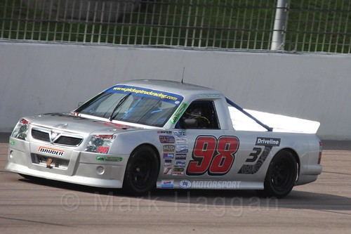 Antony Hawkins in Pick Up Truck Racing, Rockingham, Sept 2015