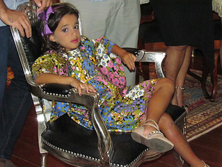 A lindalina Helena, filha de Maria Paula Franco Clemente e Bernardo Clemente