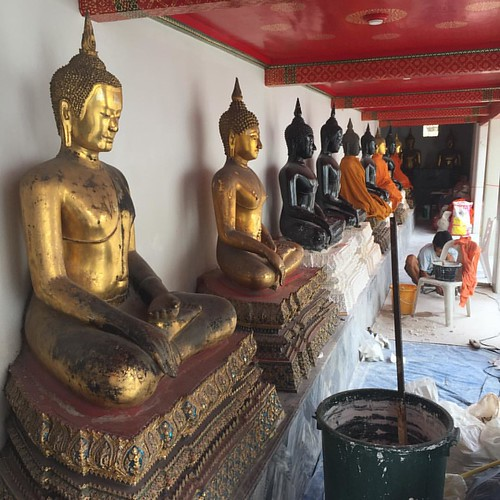 #Buddha #   @ #WatPrenovation#   @ #WatPho #Bangkok #Thailand #thailoup #traveloup