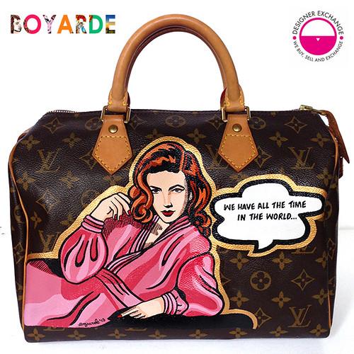 Designer Exchange lv speedy x Boyarde diva