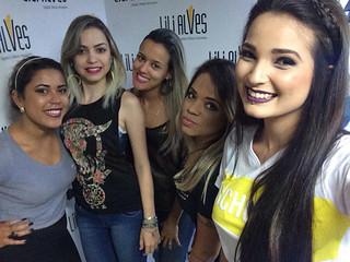 Camila Dayena, Andreza Xavier e Silvania Braga
