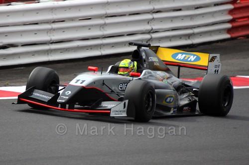Tio Ellinas in Saturday's Formula Renault 3.5 Race at Silverstone