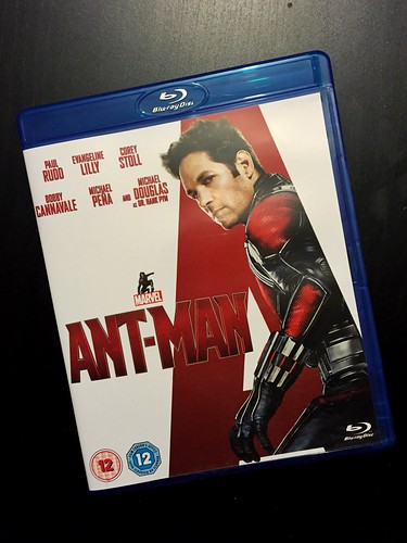 Today is all about...Ant-man