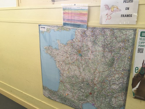 Les CM1 ont suivi le tour de France de Pelico avec attention !