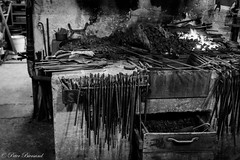 At the blacksmiths