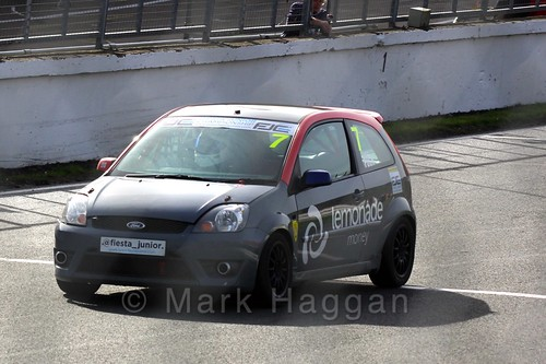 Cameron Pugh in the Fiesta Junior Championship, Brands Hatch, 2015