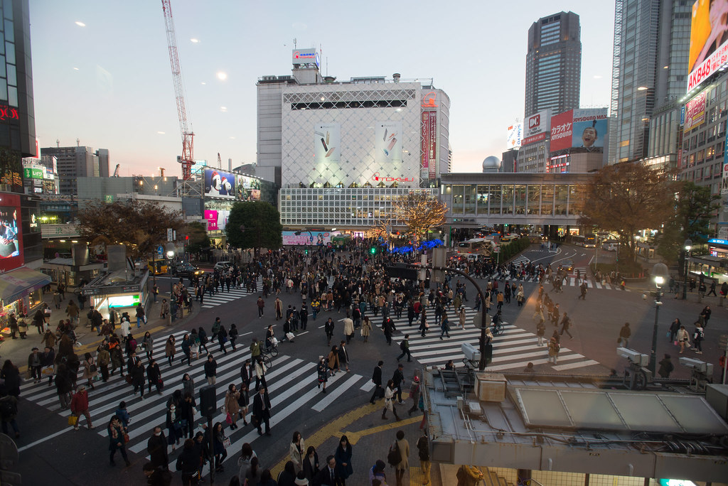 Shibuya - crazy crossing