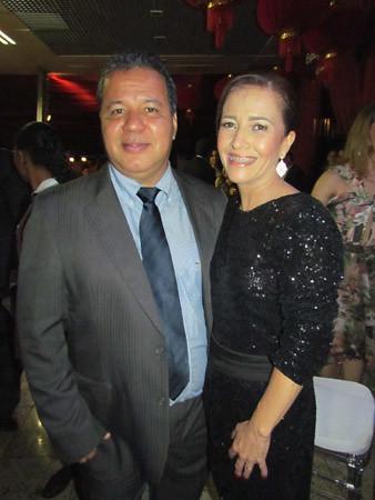 Soninha e Amarildo Assis
