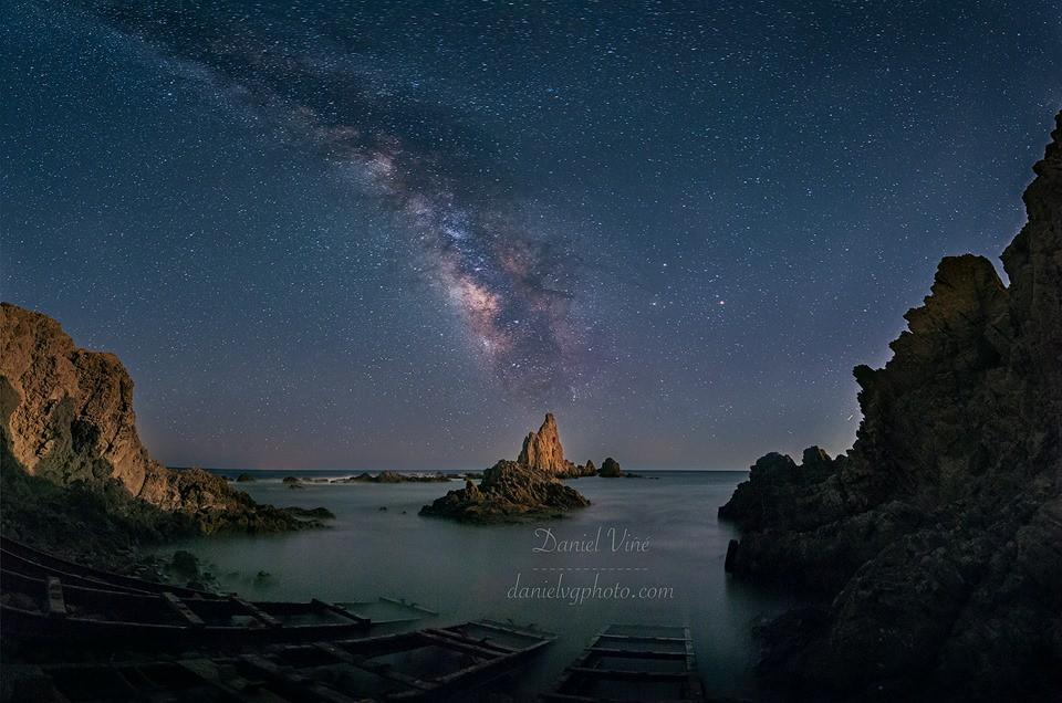 Dark Landscape Rock