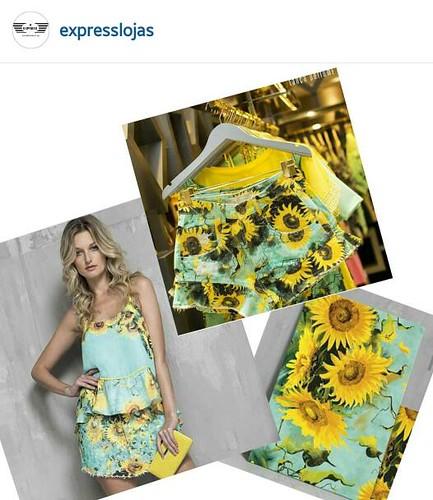 Entre no clima do verão e deixe seu dia mais lindo. Estampa exclusiva da Lança Perfume girasol de Van Gogh.