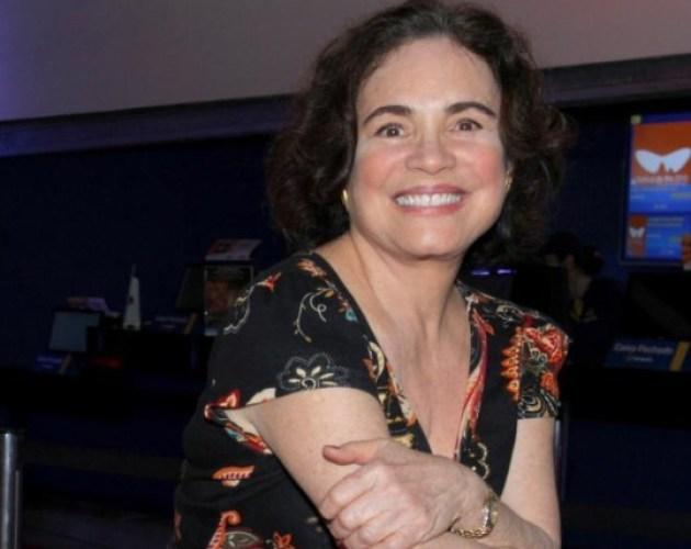 Regina Duarte sobre a temporada de Gabriela Duarte em Nova York:'Morro de saudade'