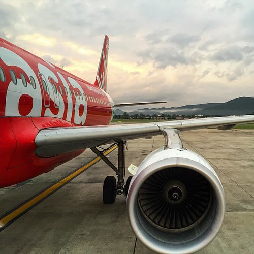 #ChangMai to #Krabi  @ #AirAsia #Thailand  #thailoup #traveloup