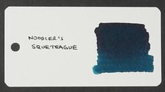 Noodler's Squeteague - Word Card