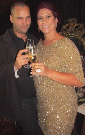 Gil Minogue e Marluce Isawa
