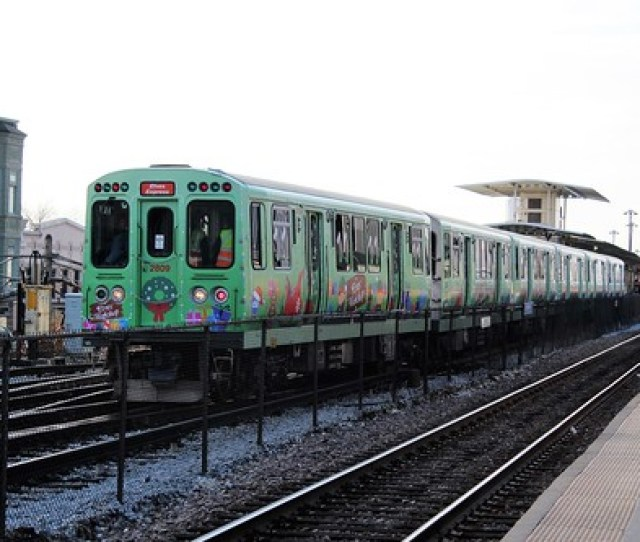 Cta  Elves Express Harlem Lake Green Line