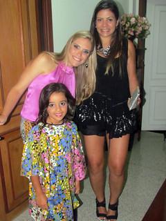 Marcela, Fernanda e Helena