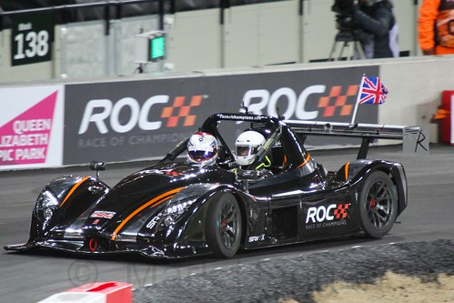 Jason Plato in The Race of Champions, Olympic Stadium, London, November 2015