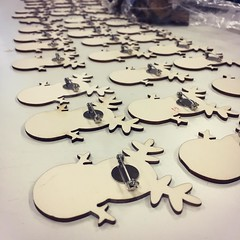 More badges for our #Christmas #market and #workshop next week! More info https://goo.gl/4hWjqA