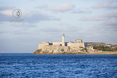 Morro Castle protectin the Havana harbor.