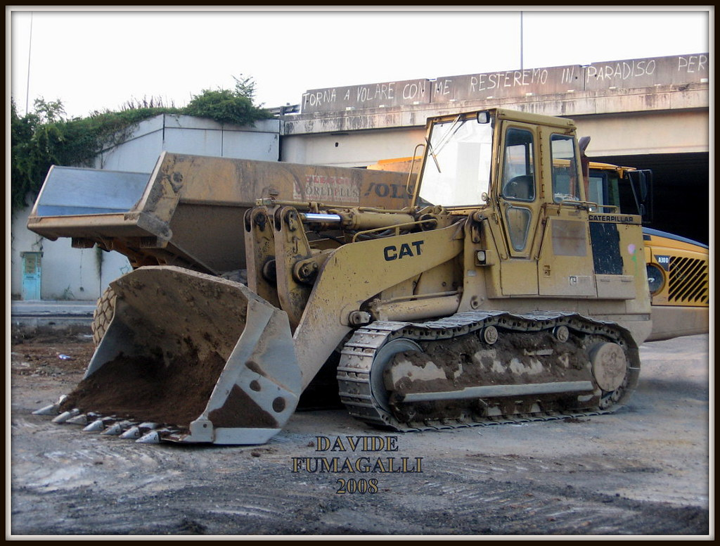 Fiat Allis Crawler Loader