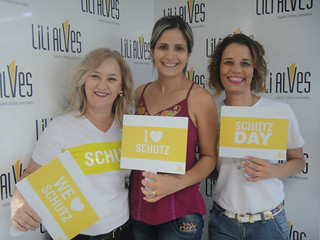 Leidy Campos, Michele Sampaio Silva e Maria Celeste Soares.