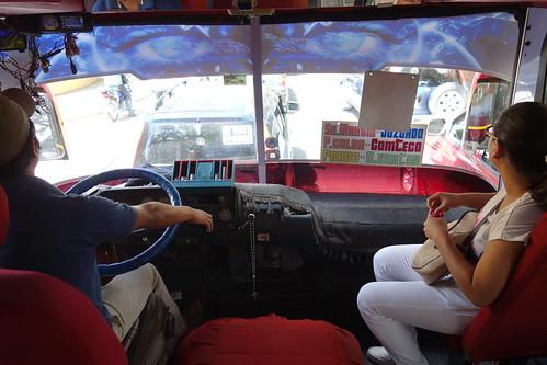 On paye en rentrant ou en sortant du microbus