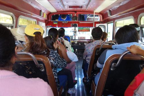 Contrairement à ce que son nom indique les microbus ... sont grands !