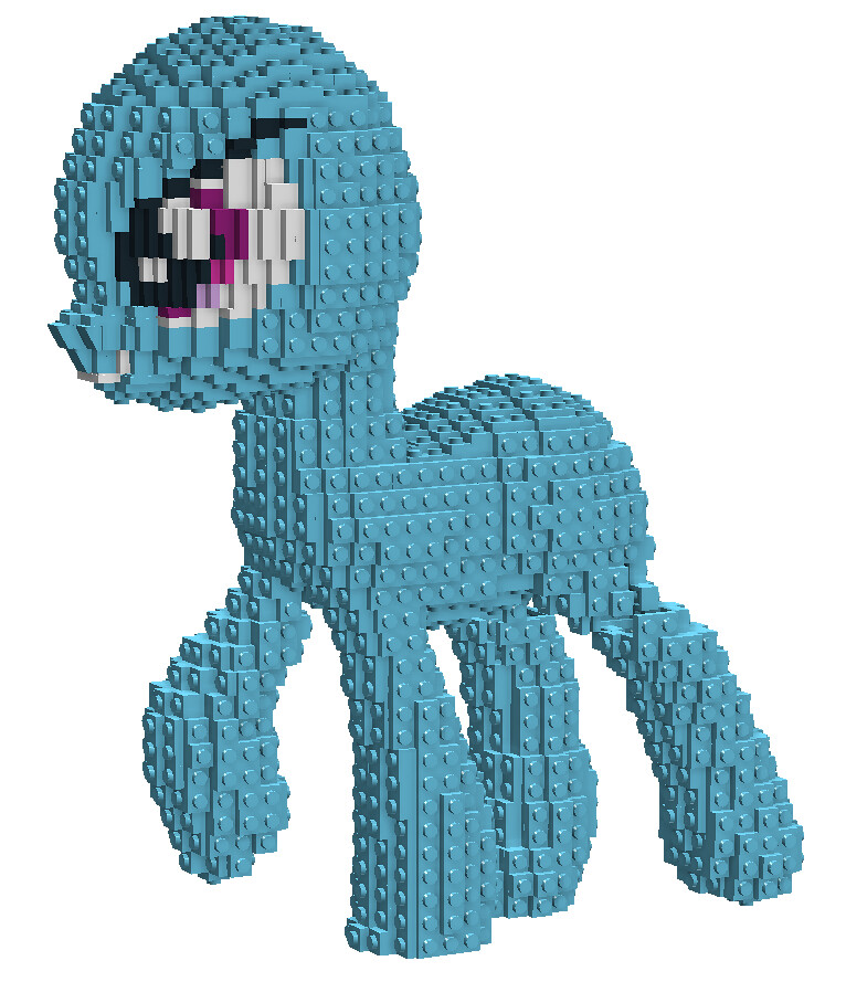 The World s Best Photos of lego and mlp   Flickr Hive Mind Rainbow Dash WIP 5   Face  technoandrew  Tags  rainbow model lego little  character