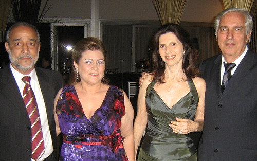 Bastos e Vânia, Suely e Rogério Leal