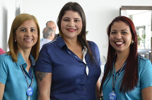 Ricássia Perdigão, Thaís Mariano e Graziele Mourão - Foto Emmanuel Franco