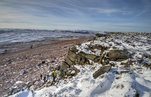 From Stanage Edge