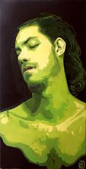 Il tempo della morte (3), olio su tela, 50×100, 2011
