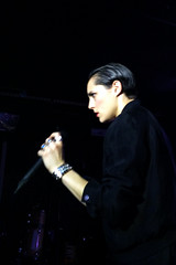 """Savages - 2015 NYC Residency, Mercury Lounge, New York City, NY 1-21-15 • <a style=""""font-size:0.8em;"""" href=""""http://www.flickr.com/photos/79463948@N07/23198213729/"""" target=""""_blank"""">View on Flickr</a>"""