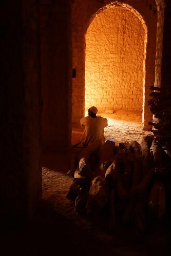 Burkina Faso : Bani - Grande Mosquée (Intérieur)
